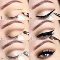 wedding photo - Eye Enhancing Makeup Trick