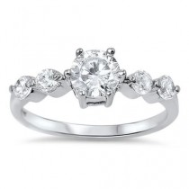 wedding photo - A Perfect 1.6CT Round Cut Solitaire Russian Lab Diamond Engagement Wedding Anniversary Ring