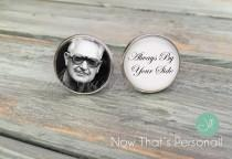 wedding photo - Custom Photo Cuff Links - Memorial cuff links - Wedding Cufflinks, Picture Cuff Links, custom cuff links, Groom cuff links, photo cufflinks