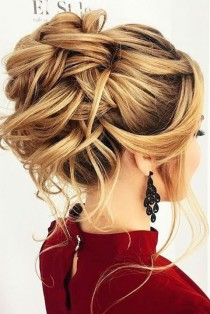wedding photo - (90 ) Romantic Wedding Hairstyles Ideas Will Make You Love