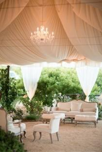 wedding photo - 20 Creative Wedding Reception Lounge Area Ideas