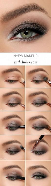 wedding photo - Gray Smoked Out Eyeshadow