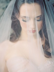 wedding photo - I Do  Veiled Beauty