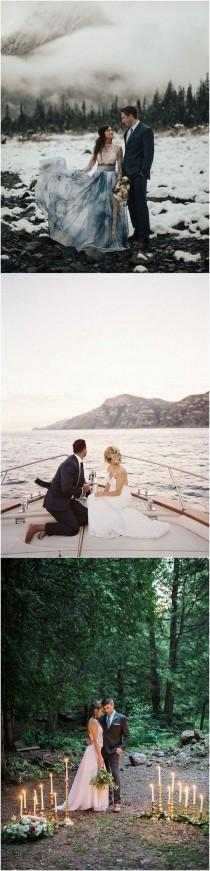 wedding photo - Top 20 Elopement Ideas You'll Love - Page 2 Of 2