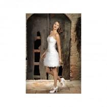 wedding photo - Vestido de novia de Jordi Dalmau Modelo Fosforo - 2014 Otras Palabra de honor Vestido - Tienda nupcial con estilo del cordón