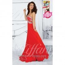 wedding photo - Tiffany 16024 - Charming Wedding Party Dresses