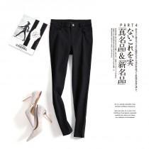 wedding photo - Zipper Up Cotton Cowboy Black Customize Flexible Fancy Tight Jeans Long Trouser - Discount Fashion in beenono