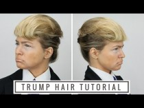 wedding photo - Donald Trump Hair Tutorial