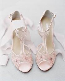 wedding photo - Shoe Bling