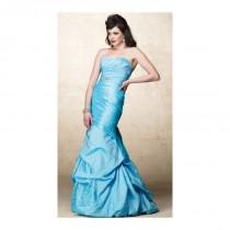 wedding photo - Alyce Designs Special Occasion Crinkle Taffeta Evening Dress 6682 - Brand Prom Dresses