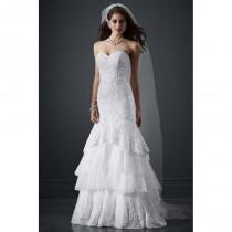wedding photo - David's Bridal LUXE Style PWG3602 - Fantastic Wedding Dresses