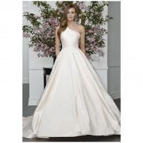 wedding photo - Legends Romona Keveza L6108 - Ball Gown One Shoulder Natural Floor Chapel Silk - Formal Bridesmaid Dresses 2018