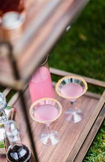 wedding photo - Creative Decor Ideas For The Wedding Cocktail Hour