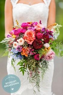 wedding photo - Colorful Bohemian Wedding At The Sunshine Coast, Queensland