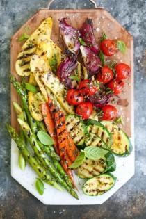 wedding photo - Grilled Vegetable Platter