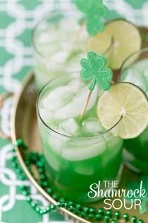 wedding photo - Shamrock Sour Cocktail