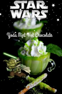 wedding photo - Starwars Yoda Mint Hot Chocolate