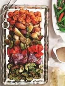 wedding photo - Rosemary Roasted Winter Vegetables With Tri-Color Potatoes