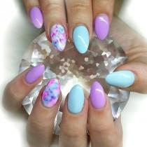 wedding photo - 14 Spring Nails In Teal Color That You Can Copy