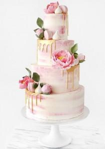 wedding photo - 10 Stunning Floral Cakes: Inspiration For The Spring Weddings