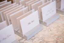 wedding photo - Place Card Holders for Wedding & Event Escort Card Display Cards Guests Seating Table Finder Cards, Custom Colors (Item - PCH200)