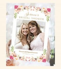 wedding photo - Bridal Shower Photo Booth Frame