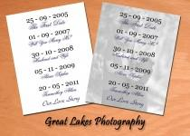 "wedding photo - Personalized ""Our Love Story"" Photo - Digital File"