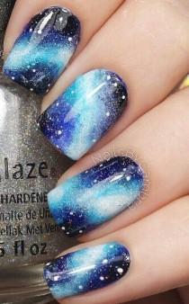 wedding photo - Galaxy Nails