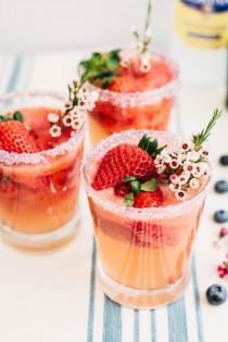 wedding photo - Strawberry Lemonade Spritzer