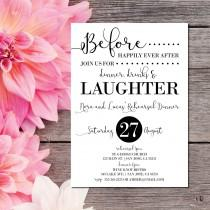 wedding photo - Rehearsal Dinner Invitation