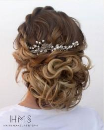 wedding photo - 50 Incredible Long Wedding Hairstyles From Hair & Makeup By Steph