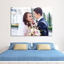 wedding photo - Create Affordable Custom Artwork From Your Wedding Memories With CanvasChamp