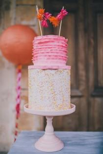 wedding photo - Party Goals: Gorgeous Sherbet Color Scheme