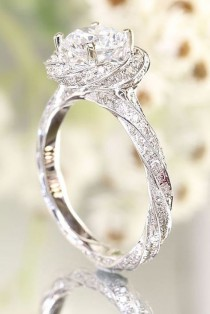 wedding photo - 36 Utterly Gorgeous Engagement Ring Ideas