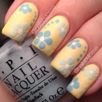 wedding photo - Nail Art - Springtime