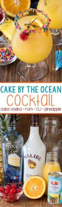 wedding photo - Cake By The Ocean Cocktail