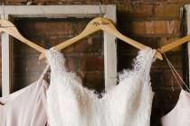 wedding photo - Wedding Dress Hangers For Wedding Bridal Party Hangers For Wedding Day Accessories For Bridal Party Wooden Dress Hanger (Item - HNP300)