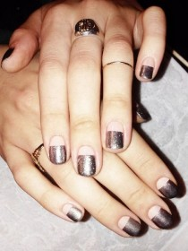 wedding photo - Take Six: Manicurist Madeline Poole Puts Her Stamp On The New Year's Eve Party Nail