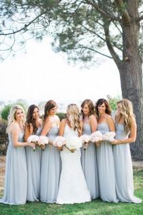 wedding photo - Long Bridesmaid Dresses
