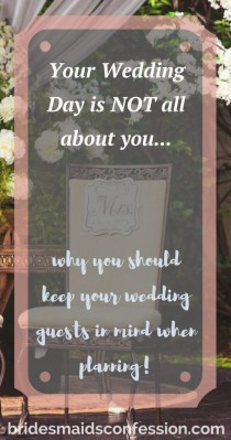 wedding photo - 3 Reasons Why Keeping Your Wedding Guests In Mind Is Important