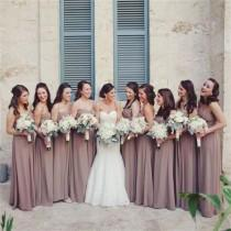 wedding photo - Chiffon Custom Cheap Sweetheart Simple Most Popular Bridesmaid Dress, Wedding Party Dresses , WG234