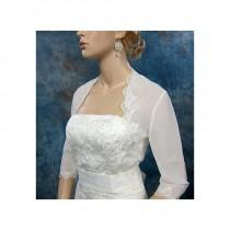 wedding photo - Elegant Chiffon With Lace Appliques Women's Jacket Match Your Fabulous Dress - overpinks.com