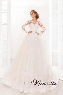 wedding photo - Wedding Dress, Wedding, Classic Wedding Dress, Lace Wedding Dress, Unique Wedding Dress, Romantic Wedding Dress, Wedding Dress Long Sleeve