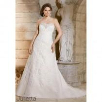 wedding photo - White/Silver Julietta Bridal by Mori Lee 3186 - Brand Wedding Store Online