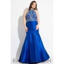 wedding photo - Royal Rachel Allan Plus Size Prom 7833 RACHEL ALLAN Curves - Rich Your Wedding Day