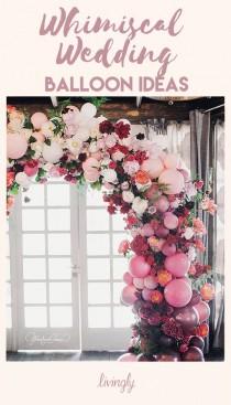 wedding photo - Wedding Balloon Decor Ideas