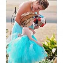 wedding photo - Tulle Flower Girl Dresses - Hand-made Beautiful Dresses