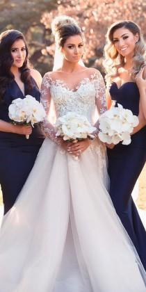 wedding photo - 18 Princess Wedding Dresses For Fairy Tale Celebration