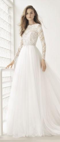 wedding photo - POEMA - 2018 Bridal Collection. Rosa Clará Couture Collection