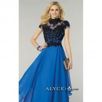 wedding photo - Layered Skirt Dresses by Alyce Prom 6386 - Bonny Evening Dresses Online